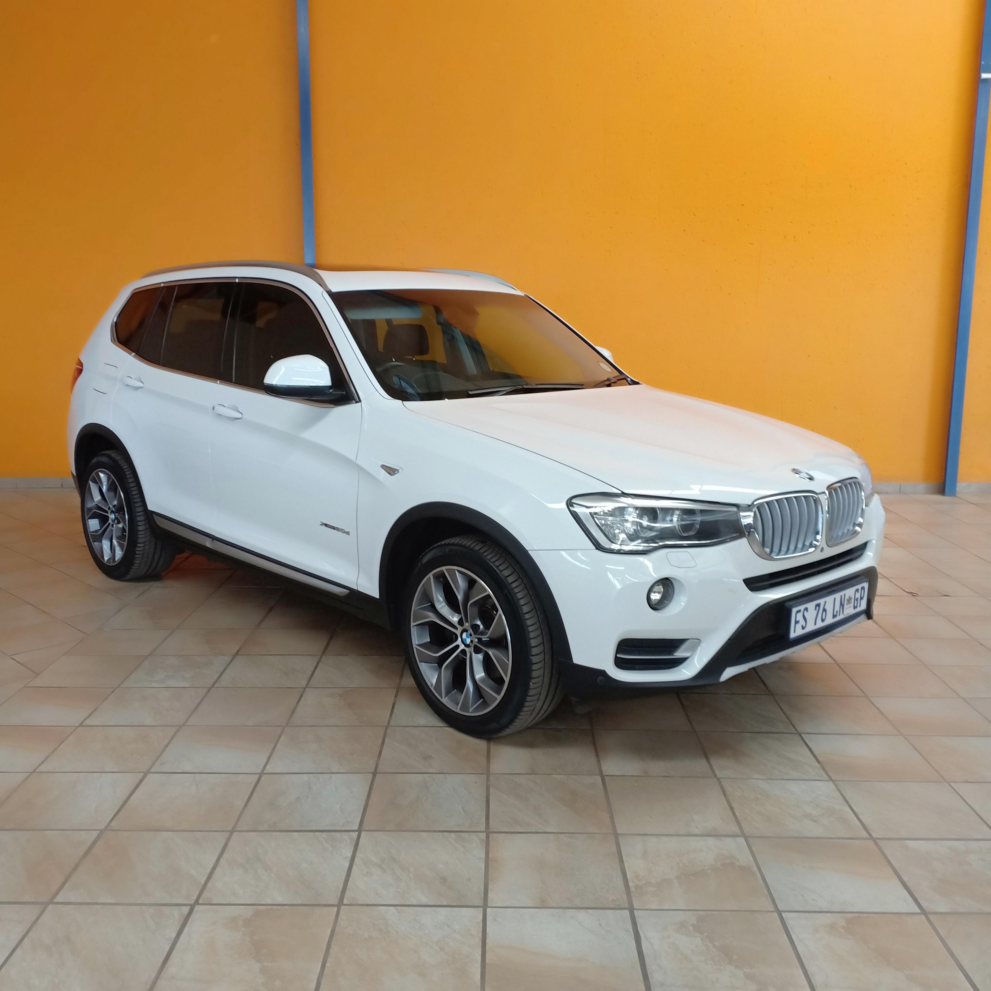 2014 BMW X3 2.OD XLINE A/T F25 EXCL